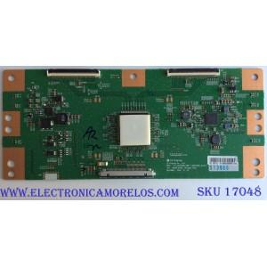 T-CON / SONY 1-897-133-11 / 6871L-5139B / 5139B / 6870C-0726A / PANEL YS7F430HNG01 / MODELOS KD-43X720E / KD-43X727E