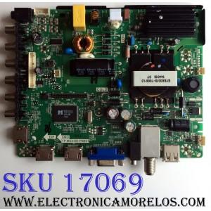 MAIN / FUENTE (COMBO) / UPSTAR U14100012 / TP.MS3393.PB851 / EL009CVTTPMS33900 / PANEL TH315L424 / MODELOS P32EE7 / P32EA8