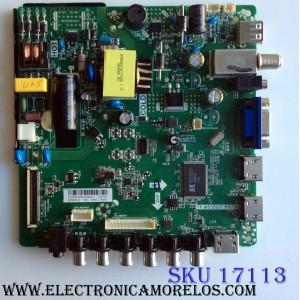 MAIN / FUENTE (COMBO) / UPSTAR H15081438 / TP.MS3393T.PB758 / BP32ES8-01 / PANEL BOEI320WX1-01 / MODELO P32ES8