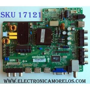 MAIN / FUENTE (COMBO) / PROSCAN B13073231 / TP.MS3393.P83 / D13141 / T201306054 / 142123932008 / E214887 / PANEL´S CN40CM676 / LSC400HM06 75W2 / MODELO PLDED4016A