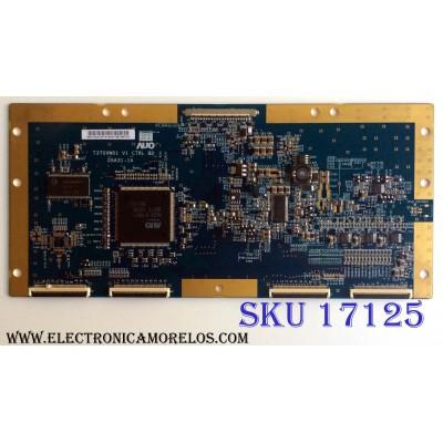T-CON / WESTINGHOUSE 55.37T02.013 / 05A31-1A / T370XW01 V1 / 5537T02013 / PANEL T370XW01 V.1 / MODELOS LCT3701AD / FPE3706 / W3707C / FLX-3710 / FLX-3711B / EWL3706 / L37HDTV10A / LTV-37W2HD