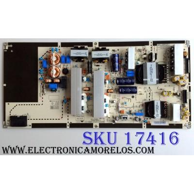FUENTE DE PODER / LG EAY64470101 / TGNT64470101 / LGP65B7-17OP / 64470101 / CTI-600 / KB-5150 / E247691 / PANEL LC650AQD (EK)(A4) / MODELOS OLED65B7A-U / OLED65B7A-U BUSYLJR / OLED65B7P-U / OLED65B7P-U BUSYLJR