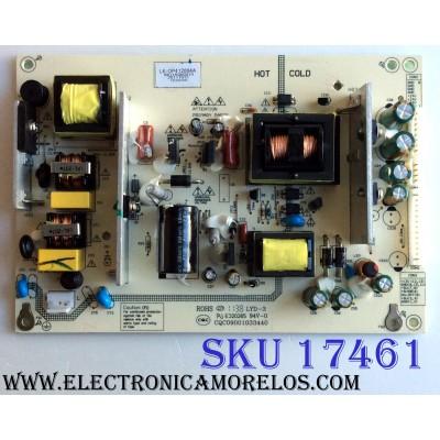 FUENTE DE PODER / APEX LK-OP412004A / CQC09001033440 / CQC04001011196 / MO1A060019 / MODELO LD3288T