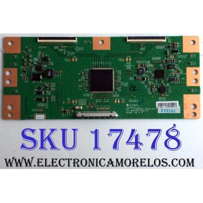 T-CON / SONY 1-897-134-11 / 6871L-5135B / 6870C-0726A / 5135B / V17_43 / 49UHD_SONY T-CON_60HZ_VER0.3 / 03302N-01 / PANEL YS7F490HNG01 / MODELOS KD-49X720E / KD-49X706E / KD-49X725E / KD-49X700E / KD-49X727E  / KD-49X705E