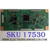 T-CON / PANASONIC 3E-D084089 / V420HK1-CS5 / MV-0SE88441 / PANEL V390HK1-LE6 Rev.C4 / MODELO TC-L39EM60