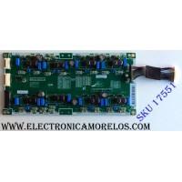 LED DRIVER / SAMSAUNG BN44-00817A / PSLF321E07B / BN44-00817A / L65EM8NC_FSM / PANEL CY-XJ055FLLV2H / MODELOS UN55JS9000FXZA TS01 / UN55JS9000 / UN65JS9000FXZA TS01