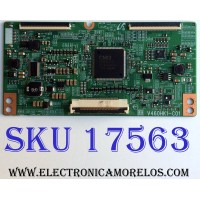 T-CON / SAMSUNG 35-D061337 / V460HK1-C01 / PANEL LD400CGC-C1-DD01 / MODELOS UN40D6000 / UN40D6000SFXZA CN03