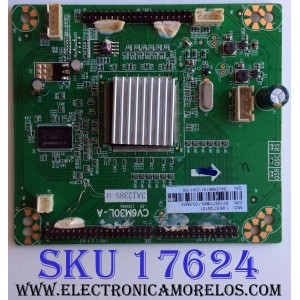 TARJETA INTERFACE / SHARP 3AJ2385 H / CV6M30L-A / 20130718 / 3AJ2385 / 890-103-6M30 / 1.06.57.04101 / SY13377 / PANEL T600D3-HA10-D03 (VER.A2) / LX600D310B1 / MODELOS LC-60LE452U / LC-60LE450U