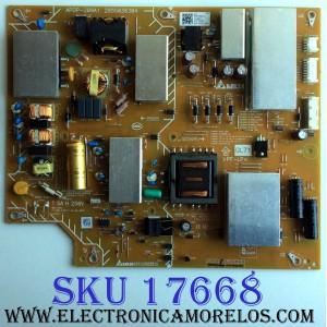 FUENTE DE PODER / 1-474-684-11 / 147468411 / 2955036304 / APDP-209A1 / SUSTITUTA 1-474-706-11 / PANEL V550QWSE09 / V550QWSE05 / MODELOS KD-55X720E / KD-55X727E / KD-55X700E / KD-55X725E / KD-55X706E / XBR-55X800E / XBR-55X807E / XBR-55X806E / XBR-55X805E