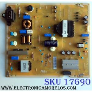 FUENTE DE PODER PARA TV LG / NUMERO DE PARTE EAY64948701 / EAX67865201 / LGP55TJ-18U1 / 64948701 / EAX67865201(1.6) / PANEL'S NC550DGG-AAGX3 MODELOS 55UU340C-UB / 55UK6090PUA / 55UK6300PUE / 55UN6950ZUA / 55UN7000PUB / 55UM6910PUC / 55UM6950DUB