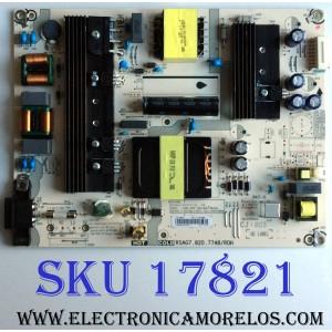 FUENTE DE PODER / HISENSE 222684 / RSAG7.820.7748/ROH / HLL-4360WE / E166702 / CQC13134095636 / PANEL`S JHD425S1U51-T0\S0\FM\ROH / JHD425S1U51-T0 / MODELO 43H6E