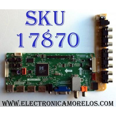 MAIN / APEX L12100237 / T.MS3391.A3B / MSD3391DS-S7 / E193079 / PANEL V460HJ1-PE1 / MODELO LE4643T