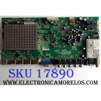 MAIN / SCEPTRE ETV5382 / EBD7.780.665 / HL090113 / VER:0.3 / E232205 / PANEL T460HW02 V.1 / MODELO X46BV-1080P