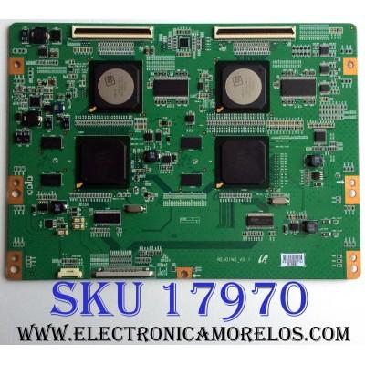 T-CON / SAMSUNG BN81-03706A / READING_V0.1 / 3193D / PARTES SUSTITUTAS LJ94-03419A / LJ94-03421A / LJ94-03420A / PANEL LTF460HG06 / MODELO UN46B8000XFXZA