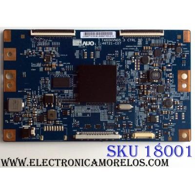T-CON / SAMSUNG 55.50T12.C05 / T460HVN05.3 / 46T21-C07 / 5550T12C05 / PANEL`S CY-HF500CSA-B2 / T500HVF02.4 / MODELOS UN50F6300AFXZA AH03 / UN50F6300AFXZA / UN50F6400AFXZA AD03