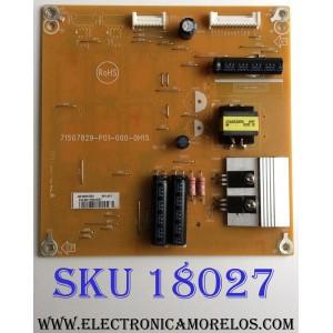 LED DRIVER / DELL FQ482GQD1 / 715G7829-P01-000-0H1S / (Q)FQ482GQD1 / PANEL LC430EQE ( H)(A1) / MODELO P4317Q