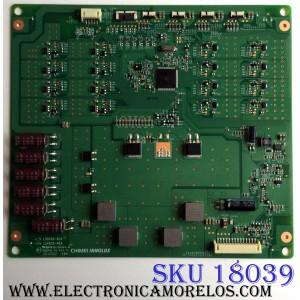 LED DRIVER / TOSHIBA 27-D085316 / L580S6-4EA / E88441 / PANEL`S V580HK1-LS6 REV.C2 / V580HK1-LKS REV.C1 / MODELO 58L7350U