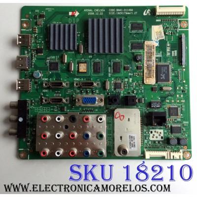 MAIN / SAMSUNG BN94-02597E / BN41-01149A / BN97-03117E / PANEL LTF460HF06 A04 / MODELOS LN46B630N1F / LN46B630N1FXZA SS02