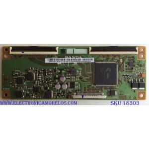 T-CON PARA TV JVC / ELEMENT / RCA / NUMERO DE PARTE RUNTK0018ZC / CEC_PCB5460002A / 0018ZC / PANEL´S LC546PU2L02 / C550U17-E2-P / MODELOS LT-55MA875 / E4SW5518 / RTRU5527-US
