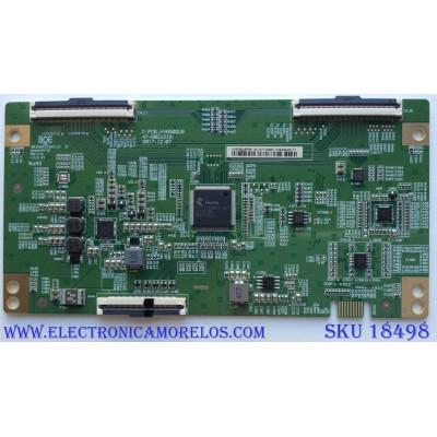 T-CON / SHARP HV650QUBF90 / 44-97714600 / B03A04EE0011B / C-PCB_HV650QUB / 47-6021218 / PANEL HD650S1U71-L1 / MODELO LC-65Q7330U