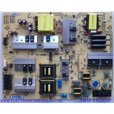 FUENTE DE PODER / VIZIO ADTVH1825AB1 / 715G9147-P01-000-003S / A1806258705 / PANEL TPT650UA-QVN06.U / MODELOS E65-E1 LTCWWVMU / E65-E1
