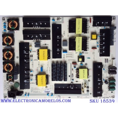 FUENTE DE PODER / SHARP 236218 / HLL-7080WL / CQC16134139053 / RSAG7.820.7442/ROH / PANEL HD750M7U71-L1 / MODELO LC-75Q7570U