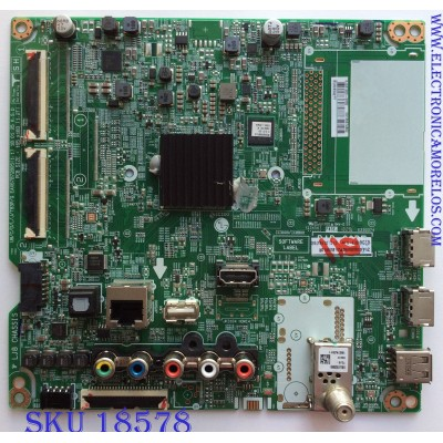 MAIN/ LG EBT65574802 / EAX67872805(1.1) / 8JEBT000-00S2 / PANEL NC650DQG-AAGX1 / MODELO 65UK6090PUA BUSVLOR