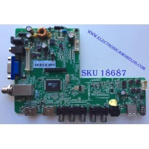 MAIN / INSIGNIA 57H1649 / CV3393BH-G / 22002A0025T-81A / PANEL BOEI320WX1 / MODELO NS-32D312NA15