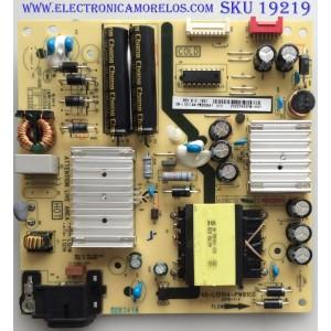 FUENTE / TCL  08-L121L44-PW200AA  / 40-L121H4-PWB1CG / MODELO TCL 43S515