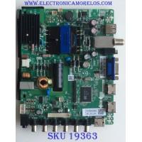 MAIN / FUENTE / (COMBO) / QUASAR / N15030860 / TP.MS3393.PB851 / 102815015411 / 50043393B00700 / AJ320T03 / PANEL HK315LEDM-0H3UH / MODELO SQ3202M