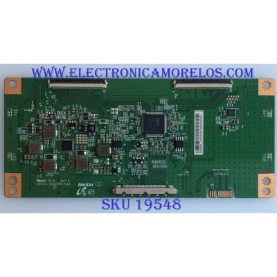 T-CON / TCL / EACDJ6E12 / EACDJ6E12 / PANEL LVU500NDEL / MODELO 50S421LDAA / 50S423