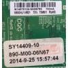 MAIN / FUENTE / (COMBO) / ELEMENT / SY14409 / TP.MS3393.PB851, N14070046, N14070047 / N14070124 / 890-M00-06N67 / SY14409-10B / V500HJ1-ME1 / MODELO ELEFW504