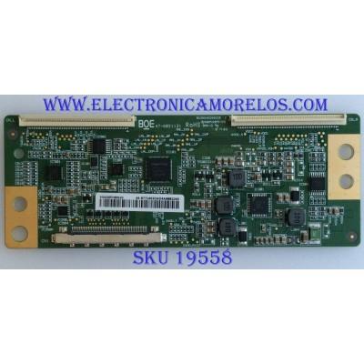 T-CON / HISENSE / 44-9771402O / 47-6021131 / HV430FHBN10 / JHD426N2F71-QL\S0\FM\ROH\ / MODELO 43H4E