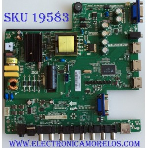 MAIN / FUENTE / (COMBO) / SCEPTRE / B14060322 / TP.MS3393.P712 / T320HVN01.2 / PANEL  T320HVN05.0 XL /