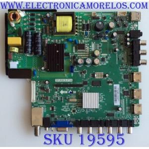 MAIN / FUENTE / (COMBO) / SCEPTRE / H14010113 / TP.RSC8.P7A / CN32HB812 / T201401013 / PANEL T32HVN01.2 /