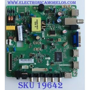 MAIN / FUENTE / (COMBO) / WESTINGHOUSE / U15072155 / TP.MS3393T.PB758 / PANEL D320D3-GTB1-C0X / MODELO WD32HD1390