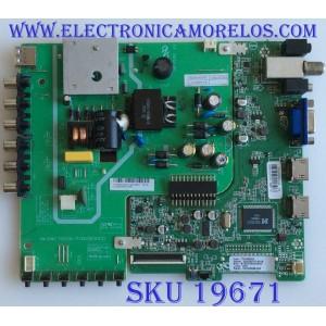 MAIN / FUENTE / (COMBO) / VIOS / A16066728 / PW.50W2.752(CNC-P32B2)B(16123) / CN32CN826 / PANEL HV320WHB-N06 / MODELO TV3216C