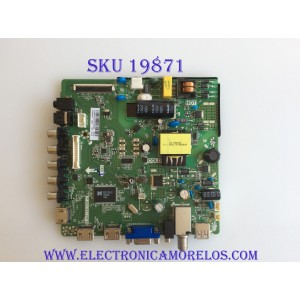 MAIN / FUENTE / (COMBO) / ELEMENT / H16071223 /H16071223-0A00460 / TP.MS3393T.PB758 / 3200218785 / PANEL BOEI320WX1-01 / MODELO ELEFW328