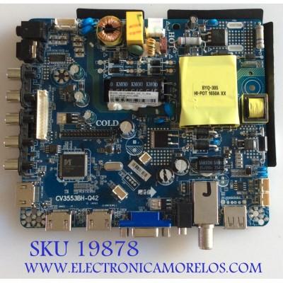 MAIN / FUENTE (COMBO) / PROSCAN 75H0677 / CV3553BH-Q42 / CV3553BH_Q42_12_4509 / AE0010827 / PANEL LSC400HN05 / MODELO PLDED4016A