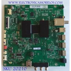 MAIN / HITACHI / X490248 / 40-MST10A-MAA4HG / V8-ST10K01-LFV001 / MB-T10NA16-MA200AA / PANEL LVU430LGDX  E1  V17 / MODELO 43R80
