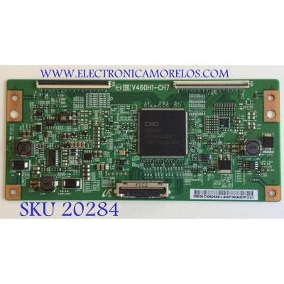 T-CON SAMSUNG / BN81-04456A / V460H1-CH7 / 35-D052600 / PANEL T460FBE2-DB / MODELOS UN46C6500VFXZC CN02 / UN46C6300SFXZA / UN46C6500VFXZA