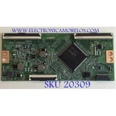 T-CON INSIGNIA / CV500U1-T01-CB-2 / E3CCBB5000020 / PANEL TPT500B5 -U1T01D REV:S04S / MODELO NS-50DF710NA19