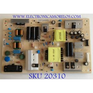 FUENTE DE PODER PARA TV INSIGNIA 4K UHD SMART FIRE TV / NUMERO DE PARTE PLTVIY301XXGA / 715G9519-P02-002-003M / (X)PLTVIY301XXGA / PANEL´S TPT500B5 -U1T01D REV:S04S / TPT500B5-U1T01.D REV:S04AE / MODELOS NS-50DF710NA19 / NS-50DF711SE21