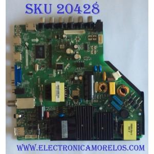 MAIN FUENTE (COMBO) POLAROID / 50GSR3000FA  / TP.MS3393.PC821 / B15062024 / PANEL V500HJ1-PE8 / MODELO 50GSR3000FA