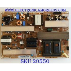 FUENTE DE PODER SAMSUNG / BN44-00287A / IP-361609F / PARTES SUSTITUTAS BN44-00267A / BN44-00267B / MODELOS LE52B750U1PXZG SQ01 / LE52B750U1WXXC 0001 / LE52B750U1WXXC SQ01