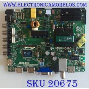 MAIN FUENTE (COMBO) ELEMENT / ELEFW408  SN F1401278 / TP.MS3393.PB851 / F50TPMS3393PB851007 / N14060021 / V400HJ6-PE1 / PANEL D400D3-GG58-COX / MODELO ELEFW408 F1401278