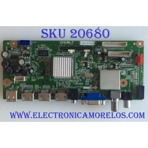 MAIN SEIKI / 28H1471A / CV318H-T / 890-M00-0LN19 / 20120828X000428 / PANEL V390HJ1 -L02 REV.C1 / MODELO SC392TS 3930M