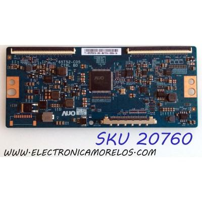 T-CON VIZIO / 55.75T05.C16 / 65T52-C05 CTRL BD / 5575T05C16 / PANEL T750QVR01.2 / MODELOS E75-F2 LWZ2WWNU / E75-F1 LTMWWWMU