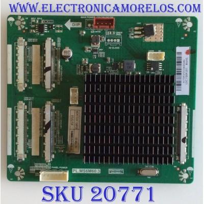 TARJETA INTERFACE RCA / A17093733 / PL.MS6M60.3 / LSC750FJ01 / 8142150000016 / PANEL CN750NC772 / MODELO RTU7575-B