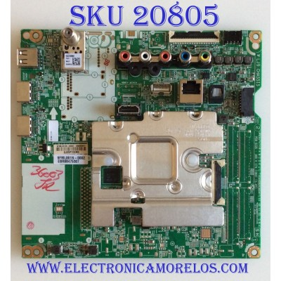 MAIN LG / EBR88475307 / EAX68253604(1.0) / 65665401 / PANEL NC500DQG-VXHX3 /  EAJ65390702 / MODELO 50UM7300AUE AUSJLJM